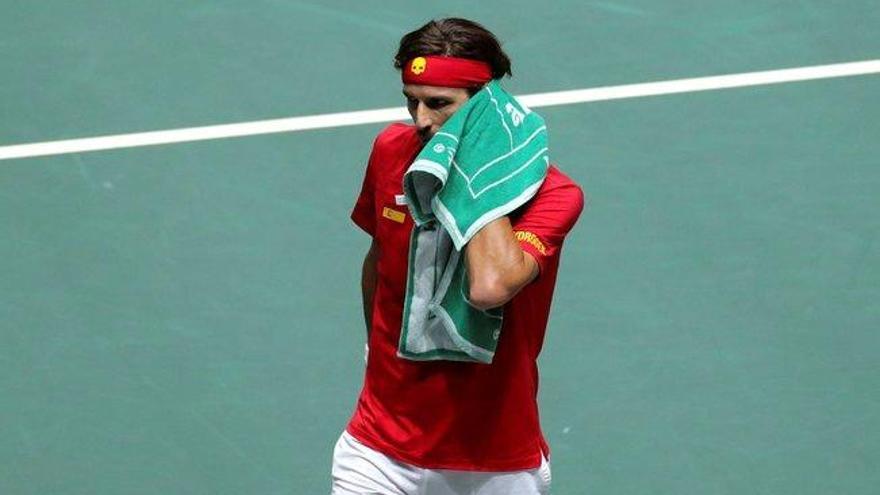 Rafa Nadal busca igualar la eliminatoria de semifinales de la Davis