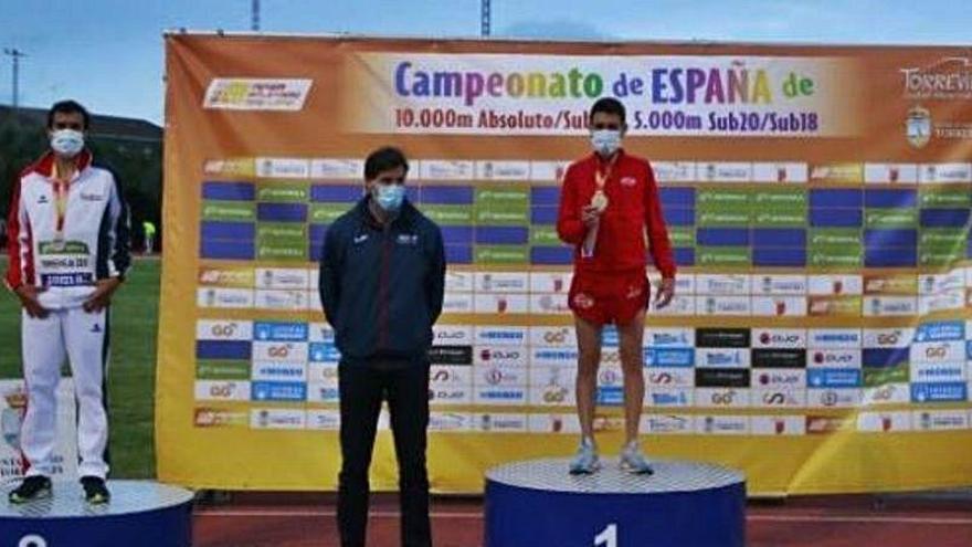 Chiki Pérez, de nuevo campeón de España de 10.000 m.