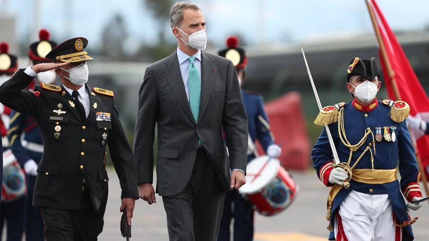El Rey llega a Ecuador para asistir a la toma de posesión de Guillermo Lasso