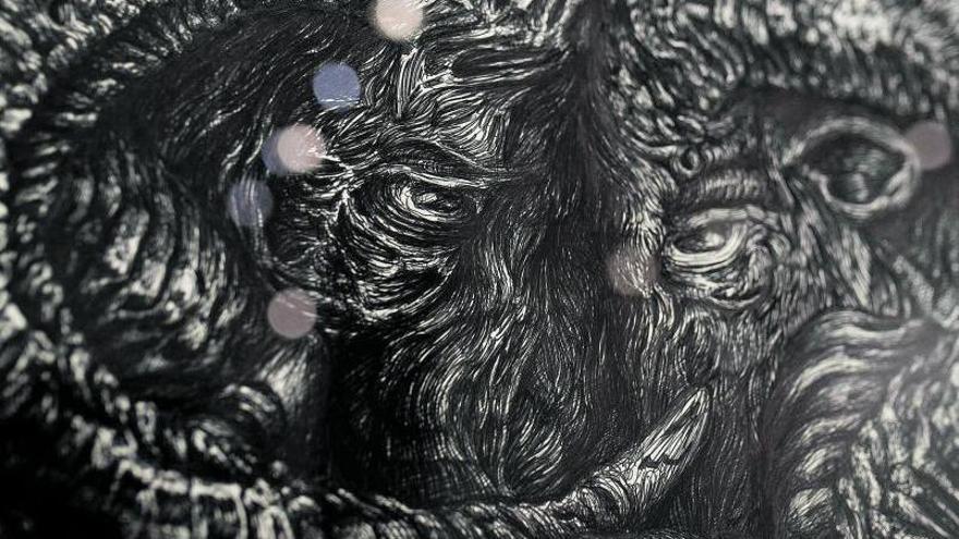 Marco Alom, dibujosque retan al cerebro