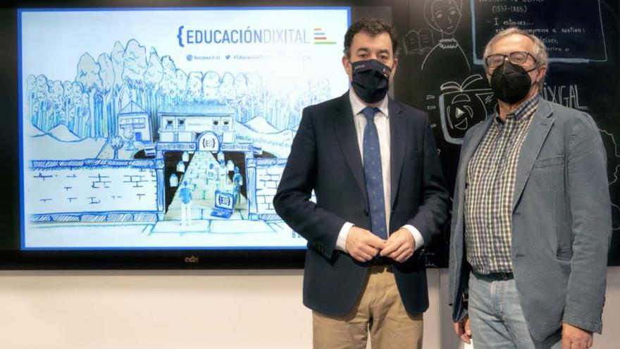 A Xunta impulsa a formación de preto de 800 docentes no ámbito tecnolóxico