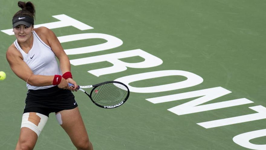 Una lesión de Serena Williams da el título de Toronto a la canadiense Andreescu