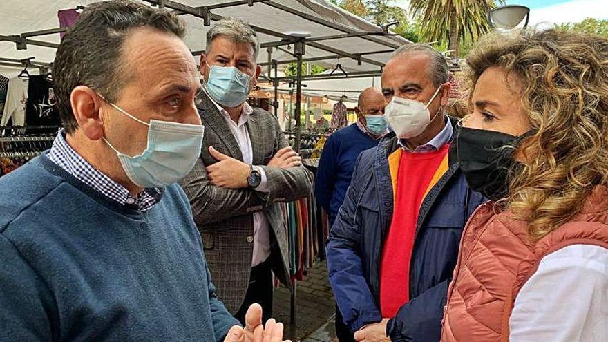 Ciudadanos pide en Grado menos burocracia para la venta ambulante