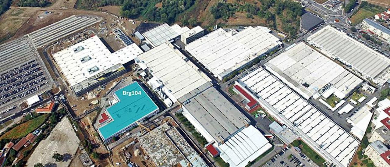 Vista aérea de las instalaciones de Bosch en Braga. | Bosch