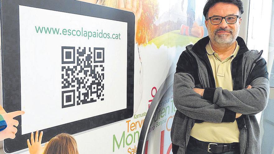 El polític Joan Josep Nuet torna a la docència i fa de professor a l'escola Paidos