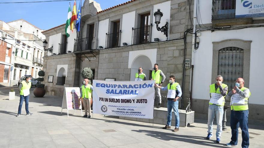 La Policía Local de Villanueva de Córdoba vuelve a pedir una subida salarial