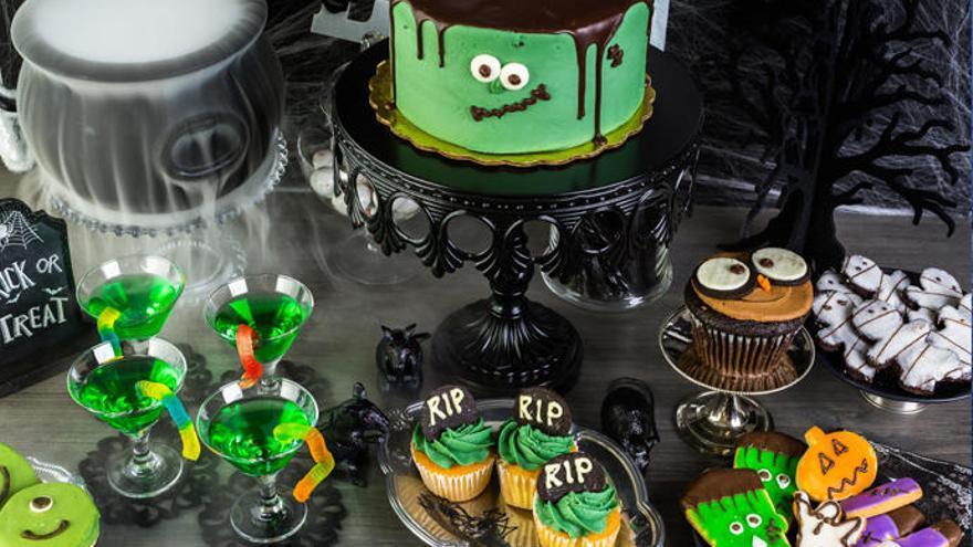 Adornos Halloween: Los moldes  de tartas más terroríficos