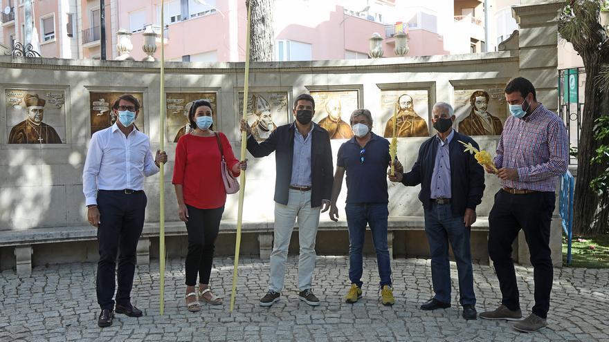 La Diputación destina 95.000 euros para potenciar la promoción turística de la palma blanca de Elche