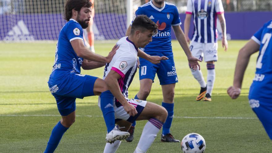 El Covadonga cae (3-2) ante el filial del Valladolid y sigue sin puntuar