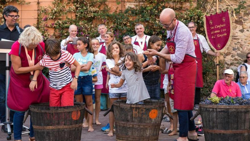 Calonge comparteix la Festa de la Verema de l'Empordà amb un nombrós públic