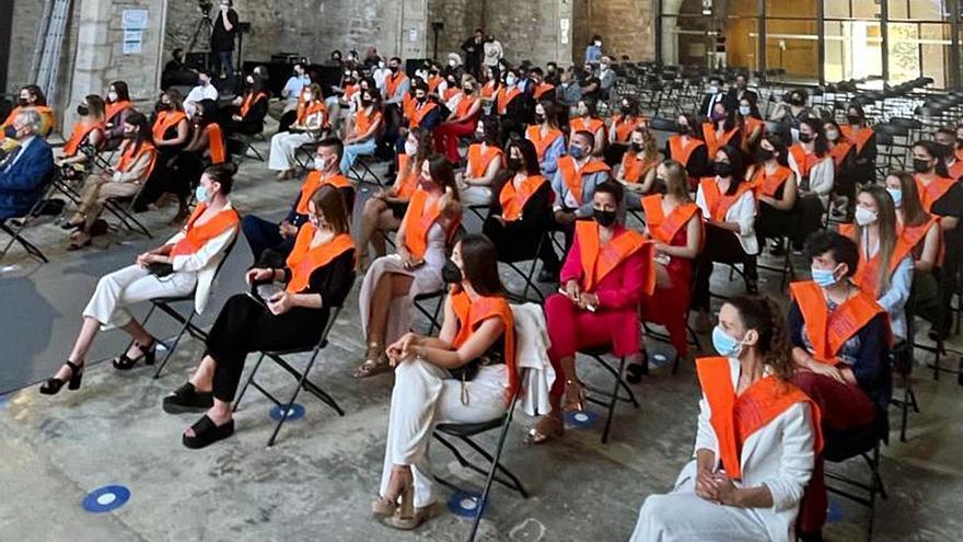 La graduació de Turisme recupera els actes presencials a la Universitat de Girona