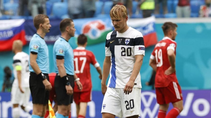 Victòria per la mínima de Rússia sobre Finlàndia (0-1)
