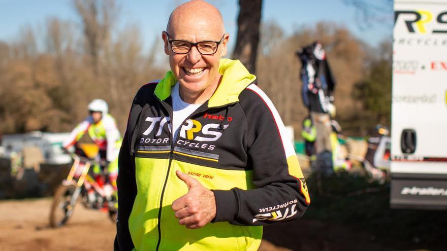 Jordi Tarrés, l'home que va revolucionar el trial, es dedica ara a fabricar motos