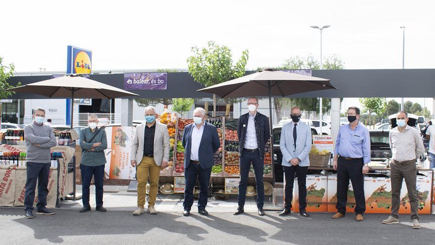 Lidl promueve el consumo de producto balear en su nueva tienda de Can Picafort