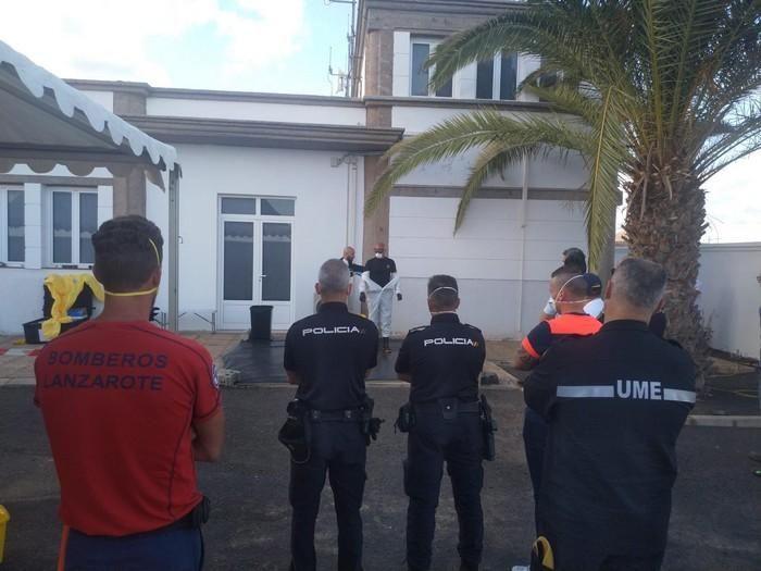 Cursos de la UME en Lanzarote.
