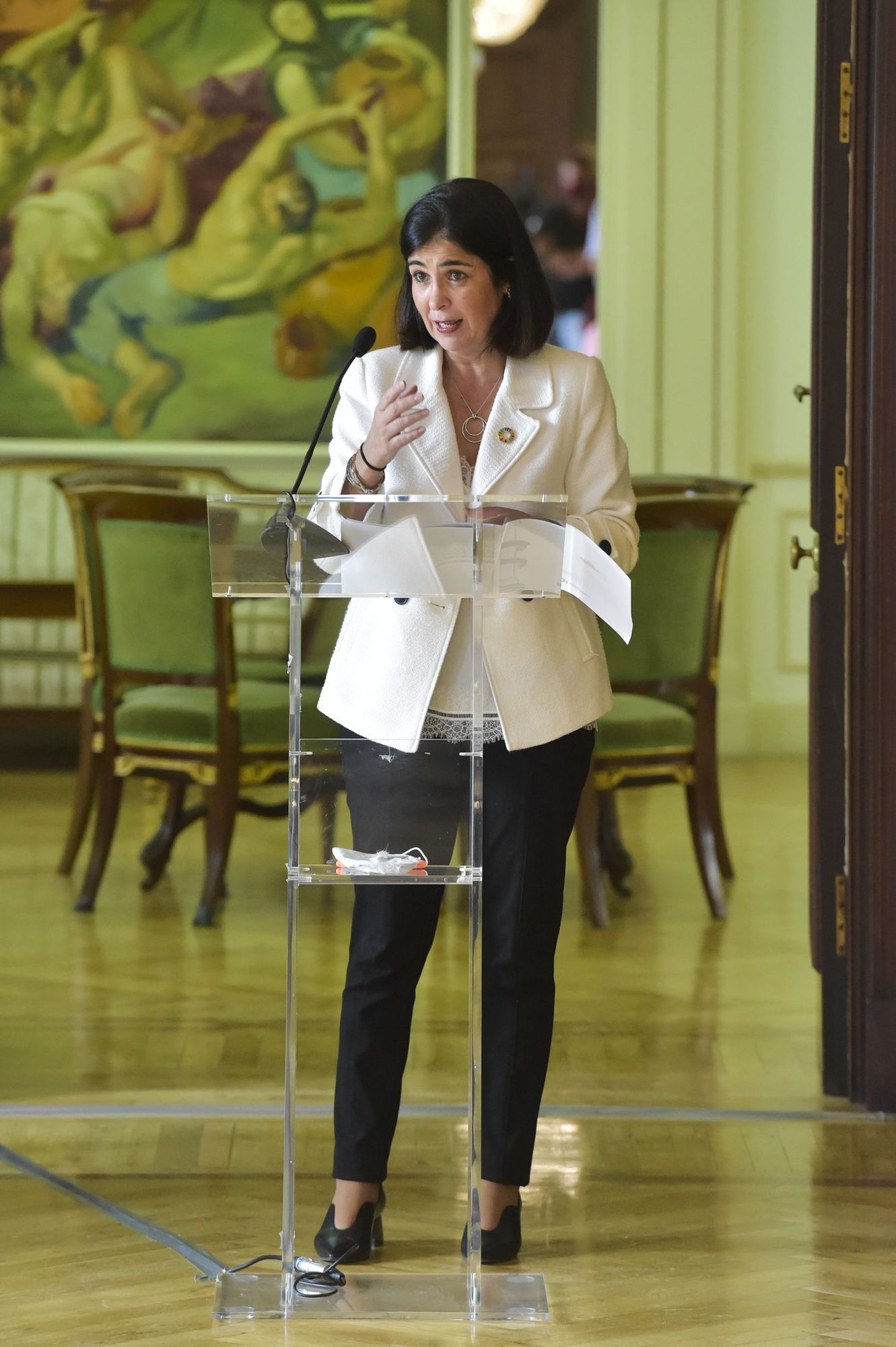 Reunión de Carolina Darias con los municipios de Gran Canaria afectados por catástrofes naturales