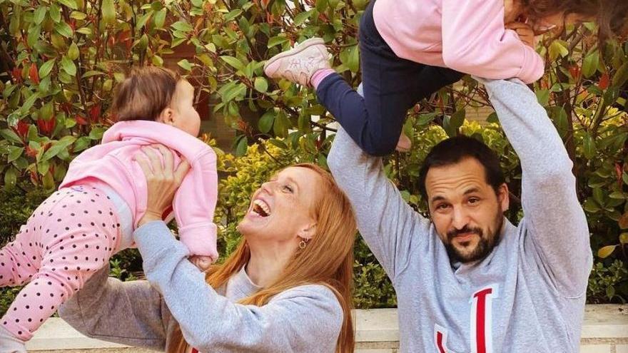 La actriz gallega María Castro, ¿dispuesta a ampliar la familia con un tercer hijo?