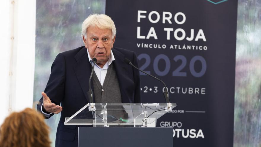 """Felipe González, sobre el Rey: """"Ha sido impecable"""""""