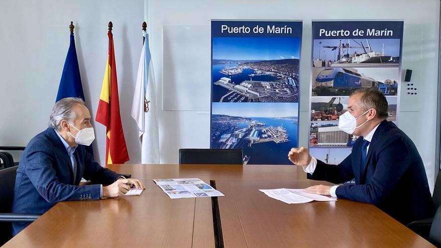 El Puerto de Marín cifra en 400.000 toneladas anuales la caída de sus tráficos si Ence no continúa en Lourizán