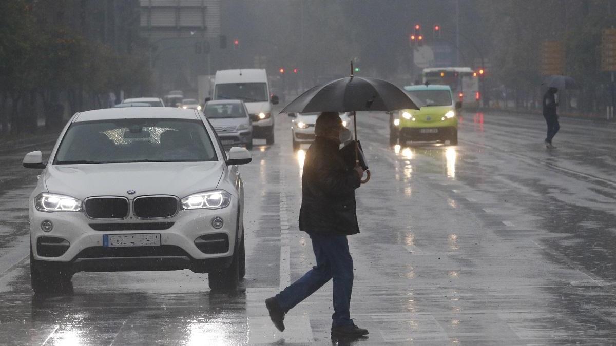 La Aemet ha activado este martes el aviso amarilla por lluvias en toda la provincia
