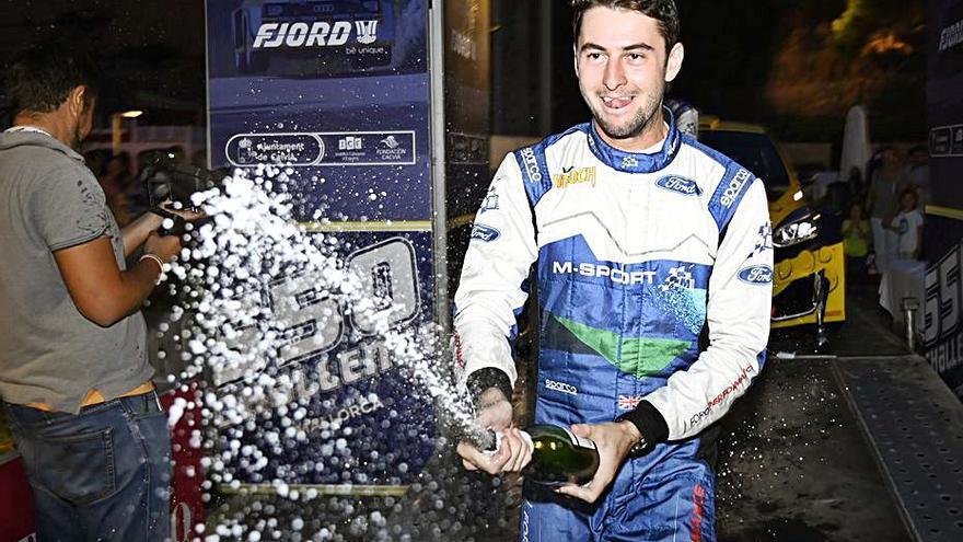 Seb Perez conquista la primera edición del rally 550 Challenge Mallorca