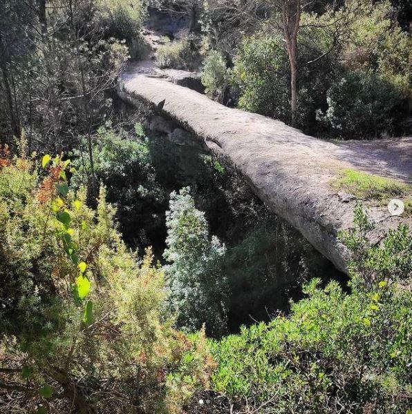 Pont Foradat de les Arnaules