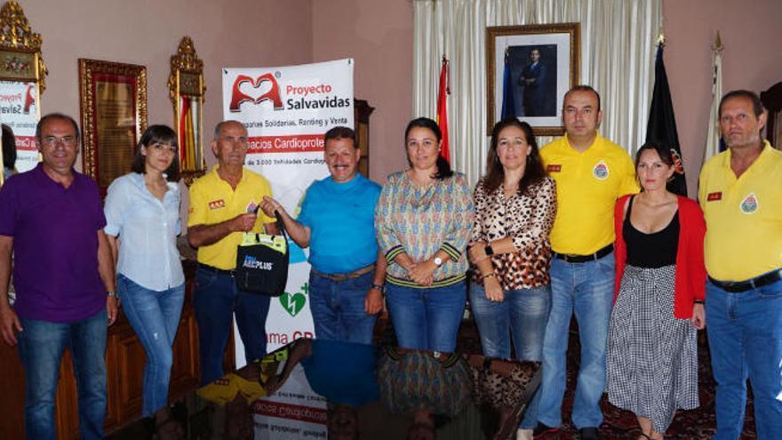 AEA recupera con CC la ambulancia tras más de medio año de 'castigo' en Fuencaliente