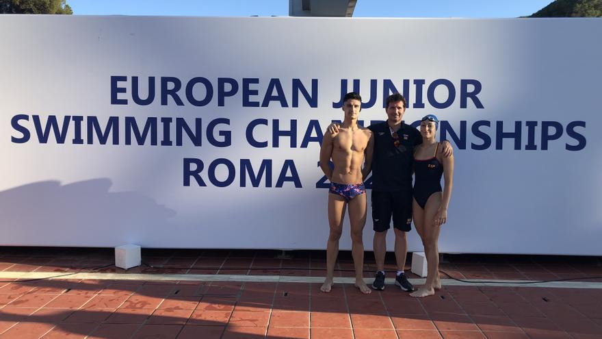 Dos ilicitanos, en el Campeonato de Europa de Natación Júnior