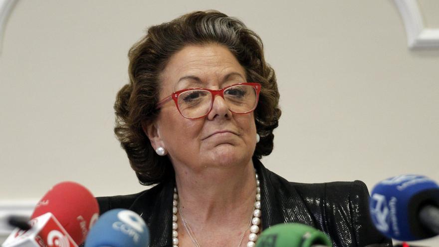 Catalá (PP) pide que Rita Barberá sea nombrada Alcaldesa Honoraria de València