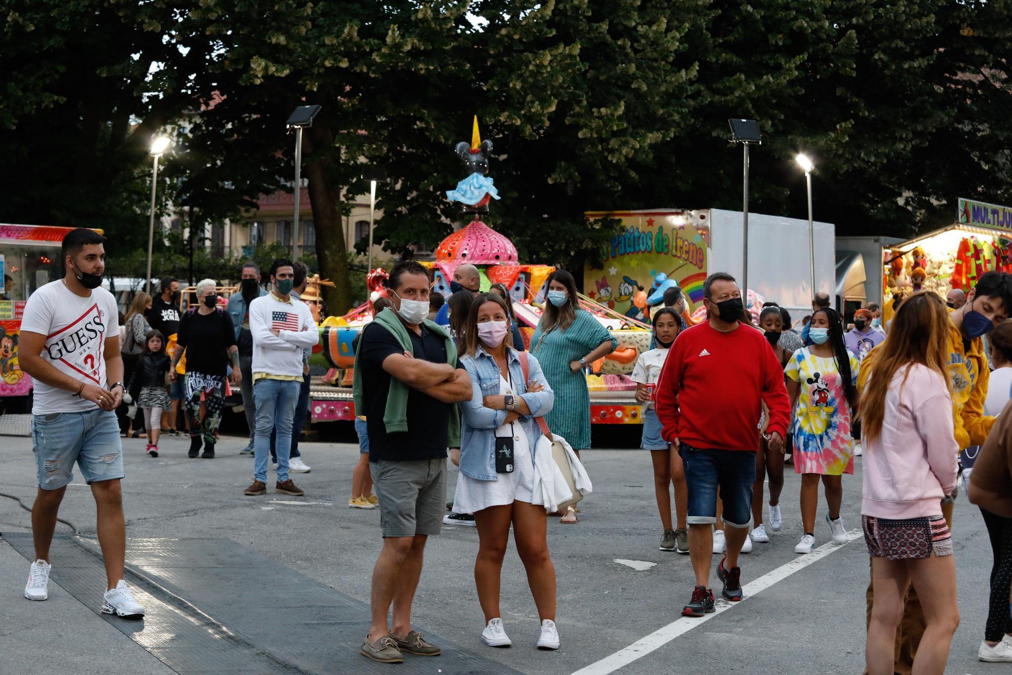 El ferial de San Agustín conquista la plaza de Pedro Ménendez