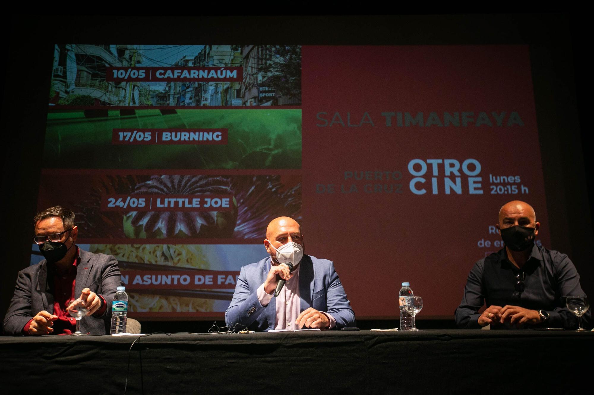 """Presentación del ciclo """"Otro cine"""" en Puerto de la Cruz."""