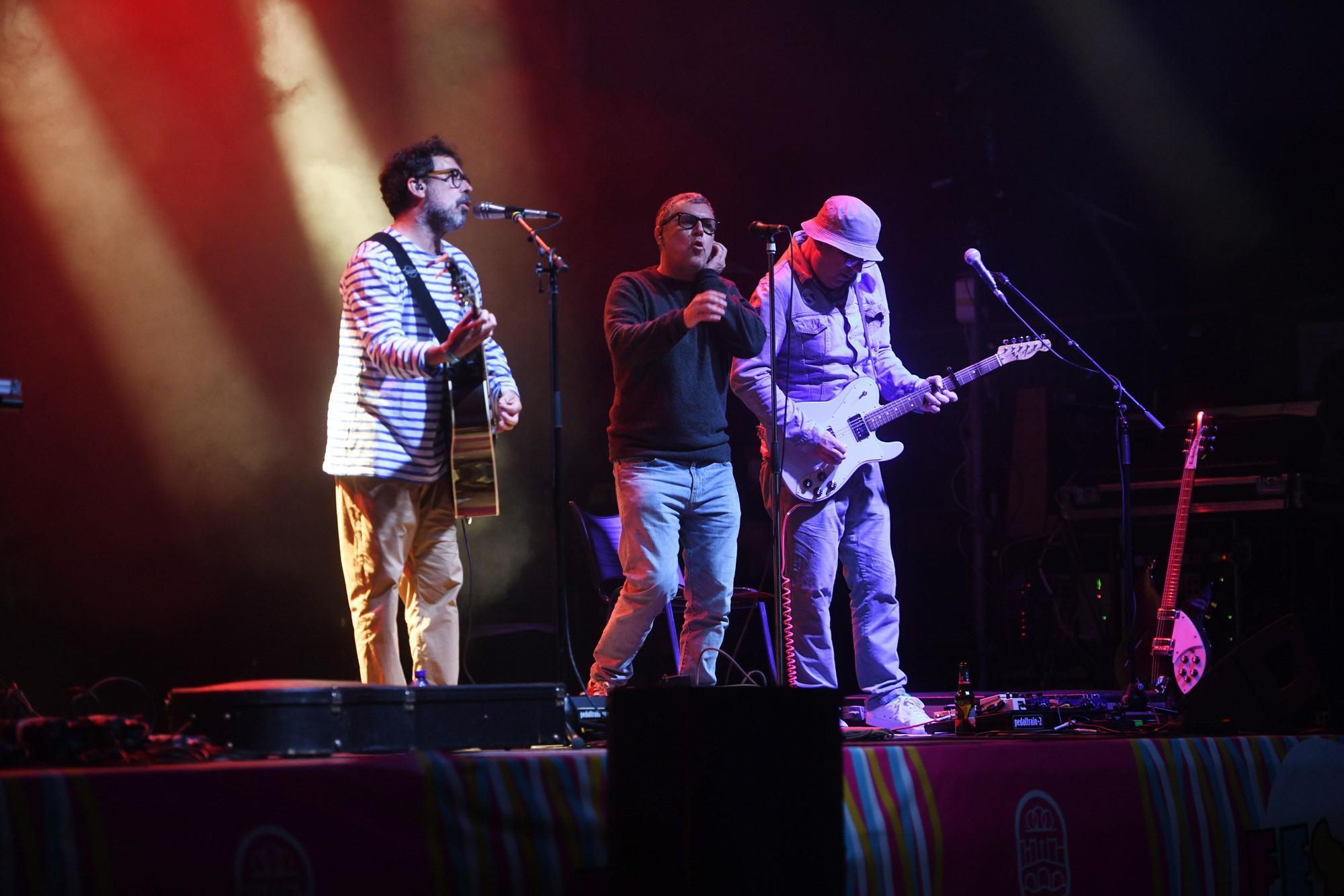 Conciertos La Peregrina Pontevedra: Combo Paradiso y Amaro Ferreiro con sorpresa final