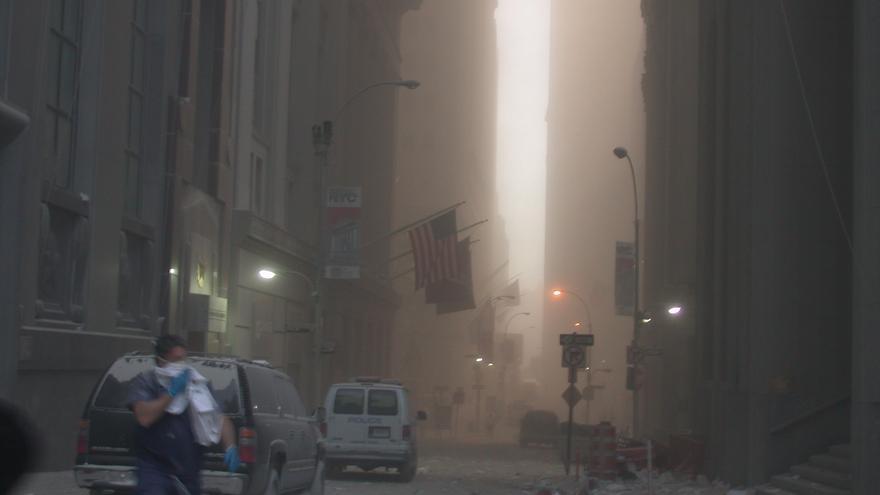 Imágenes nunca vistas del 11-S que han salido a la luz