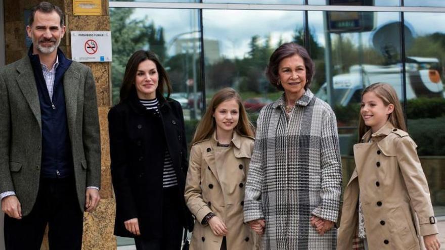 La foto amb la que la família reial vol tancar la polèmica