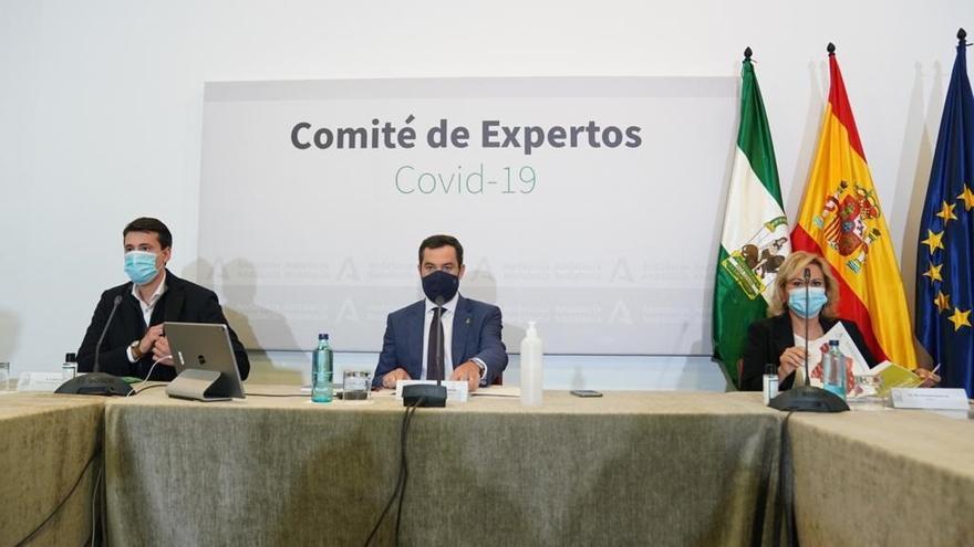 """Andalucía estudia posponer la reunión del Comité de Expertos a la próxima semana ante """"la tendencia a mejorar"""""""