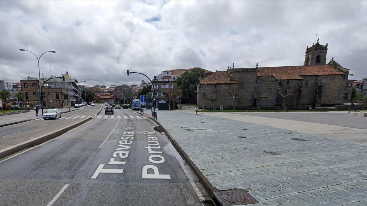 Las obras de abastecimiento afectarán al tramo próximo a la iglesia de San Miguel de Bouzas