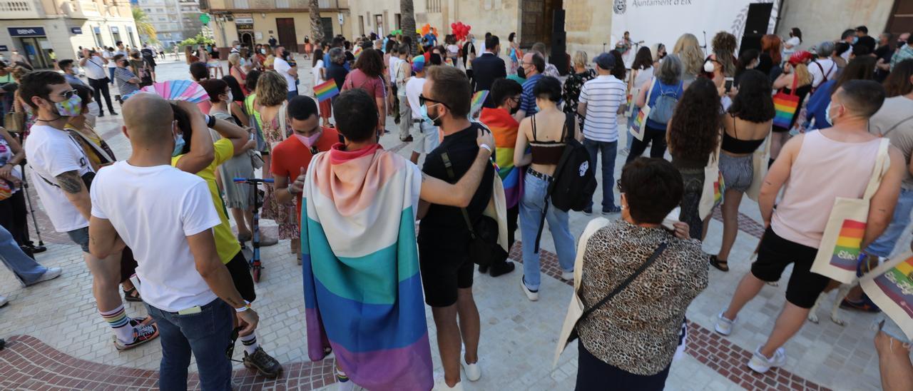 Día del orgullo LGTB en Elche