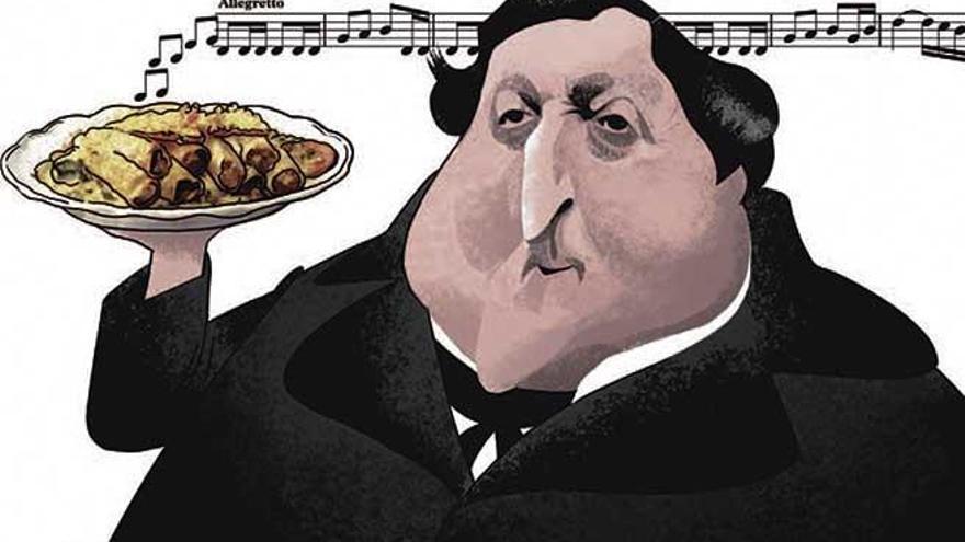 Los rellenos de Rossini