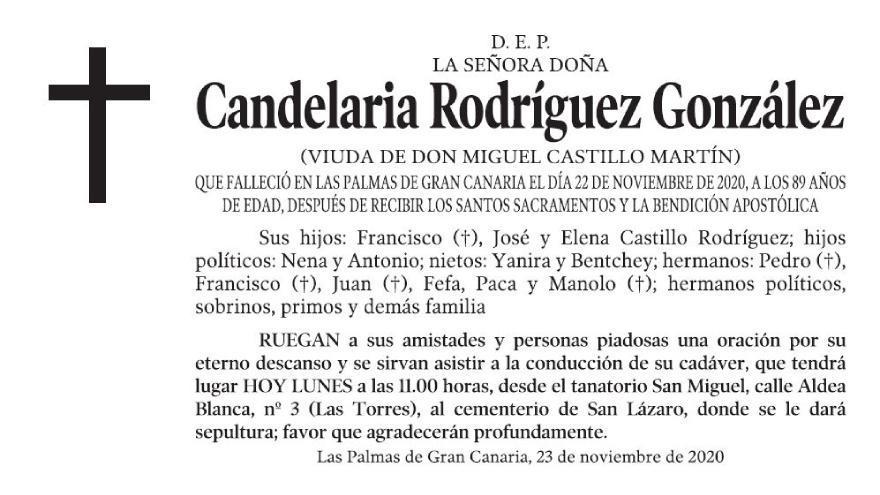 Candelaria Rodríguez González