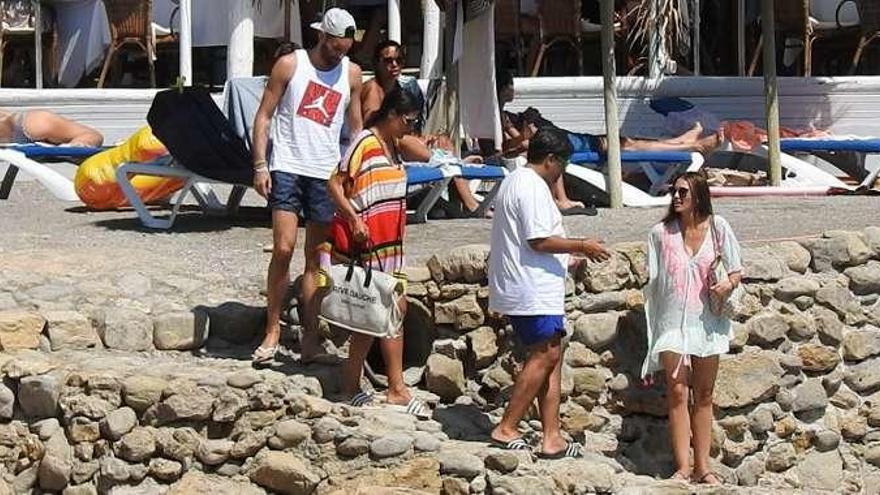 Rudy Fernández y Helen Lindes: escapada a las Baleares