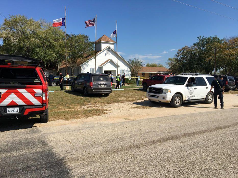 Masacre en una iglesia de Texas