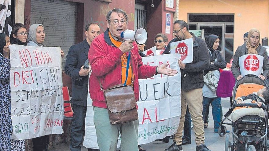 Un activista de 75 años se enfrenta a pena de cárcel por parar un desahucio