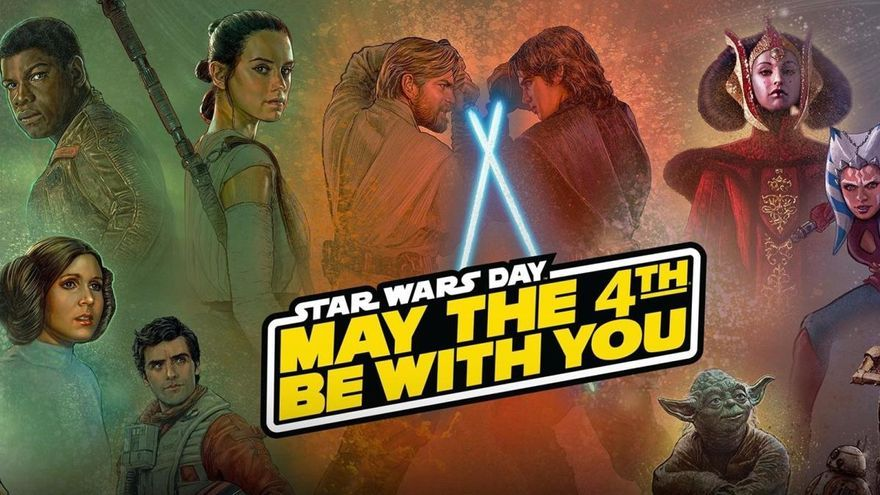 'May the 4th be with you': Por qué el Star Wars Day se celebra el 4 de mayo
