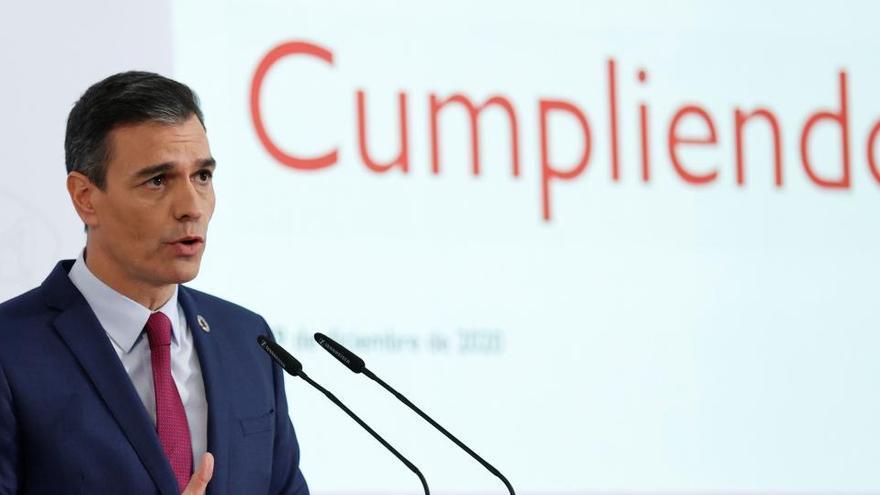 El Gobierno ha cumplido el 23,4% de los compromisos de investidura
