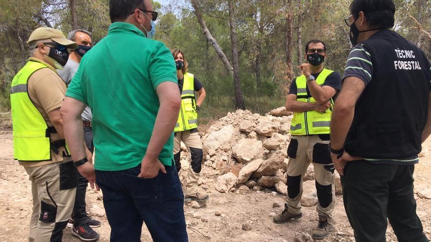 El director general de Prevención de Incendios Forestales visita los avances del proyecto Guardian