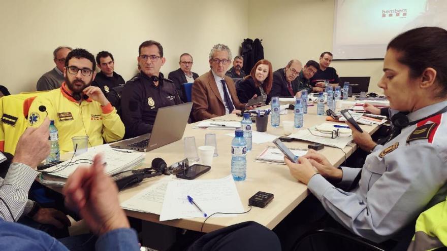 El Comitè de seguiment del Túnel del Pertús segueix avançant el Pla de Socors Binacional (PSB)