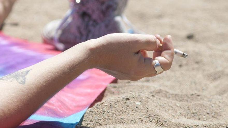 Prohibido fumar en la playa