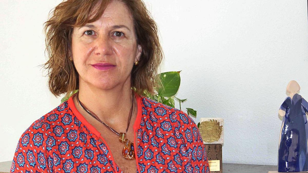 Montserrat Angulo, presidenta del Colegio de Enfermería de Alicante.   INFORMACIÓN