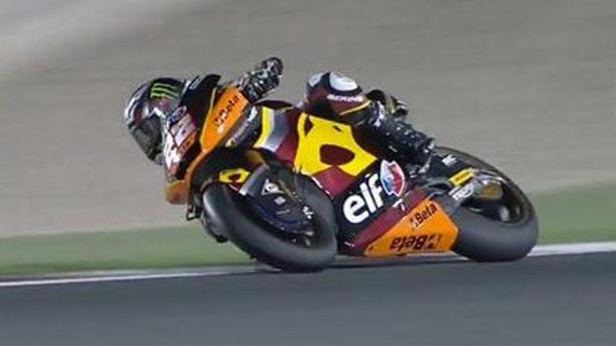 El piloto británico Sam Lowes gana en el GP de Qatar.
