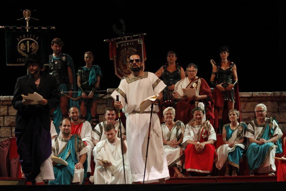 Sesión Plenaria del Senado Carthagineses y Romanos
